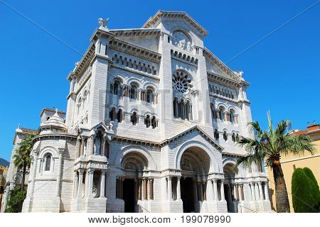 Saint Nicholas Cathedral (also known as Cathedrale de Monaco and Cathedral of Our Lady of the Immaculate Conception), Monaco-Ville