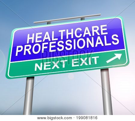 Healthcare Professionals Concept.