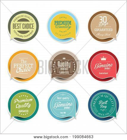 Modern Sale Sticker And Tag Colorful Collection 3.eps