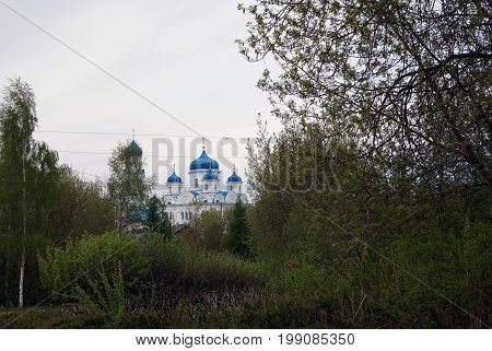 The monastery of STS. The City Of Torzhok. Russia