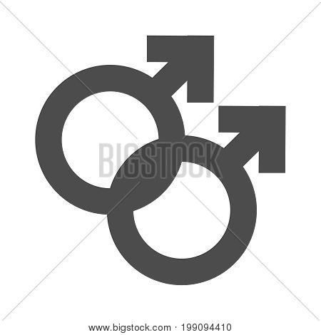 Gender Inequality And Equality Icon Symbol. Male Female Girl Boy Woman Man Transgender Icon. Mars Ve