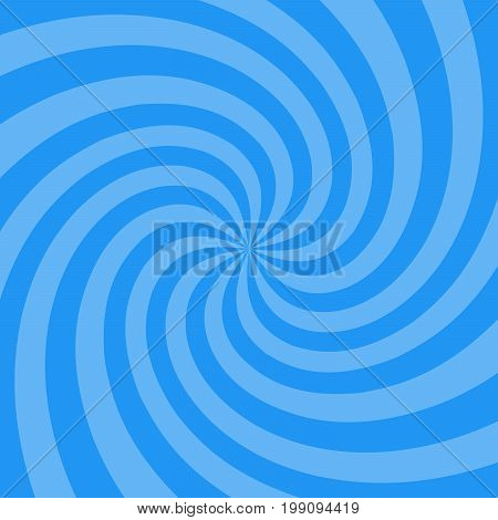 Vector Illustration For Swirl Design. Swirling Radial Pattern Background. Vortex Starburst Spiral Tw