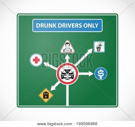 Drunk Drivers Signs 2
