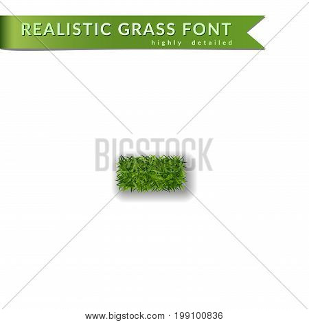 Green Minus Grass Background