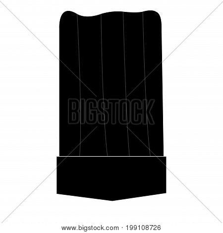 Isolated toque on a white background, Chef Hat, Vector illustration