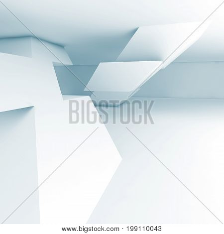 Abstract Empty Interior, Cg Background 3D