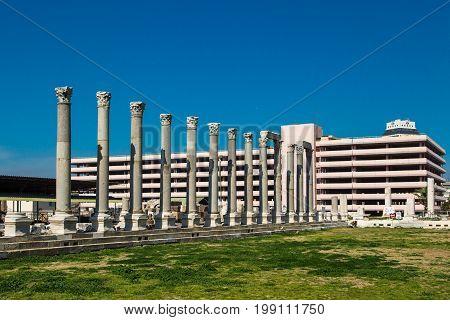 Ruins Of Smyrna Ancient City