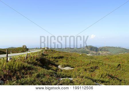 Foia the highest mountain of Algarve Portugal