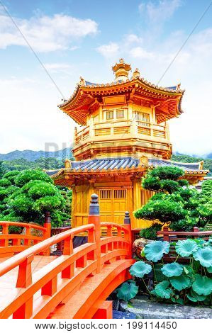 Nan Lian Garden is a Chinese Classical Garden in Diamond Hill Hong Kong. The park has an area of 3.5 hectares and was designed after the Tang Dynasty style of architecture. This garden is opened to the general public for free.