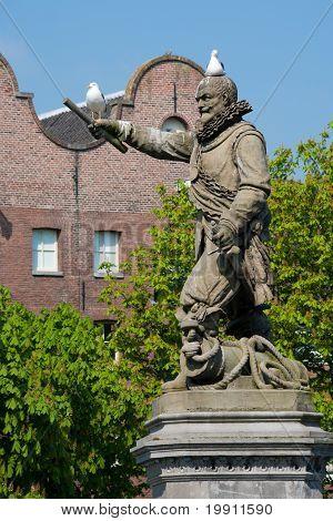 Statue Of Piet Heyn