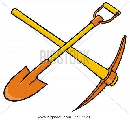 Pickaxe And Shovel