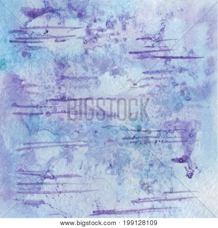 Raster abstract watercolor watercolor background, abstract watercolor texture. Picture by hand. Element of design.