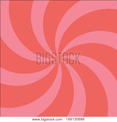 Red And Pink Twirl Background With Scratch.