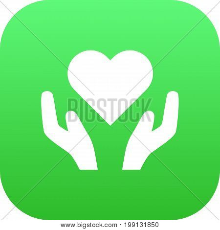 Isolated Health Care Icon Symbol On Clean Background