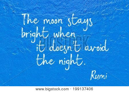 Moon Stays Rumi
