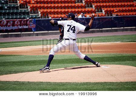 Scranton Wilkes Barre Yankees pitcher Hector Noesi