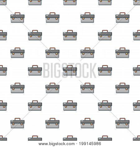 Plumber case pattern in cartoon style. Seamless pattern vector illustration