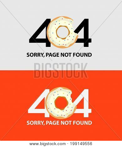 Page with a 404 error. Template reports that the page is not found