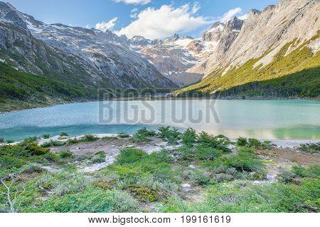 laguna esmeralda patagonia argentina ushuaia tierra del fuego