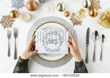 Season Greeting Cheers Gift Cards