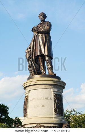 Statue Of President Garfield