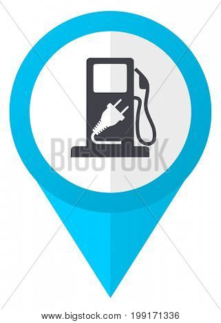Fuel blue pointer icon