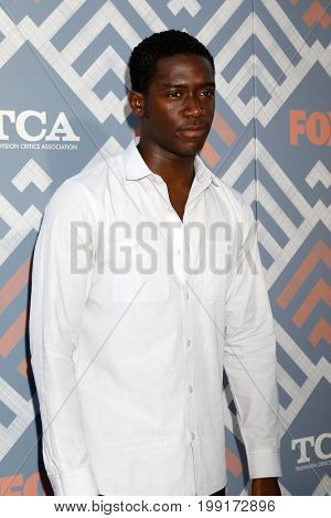 LOS ANGELES - AUG 8:  Damson Idris at the FOX TCA Summer 2017 Party at the Soho House on August 8, 2017 in West Hollywood, CA
