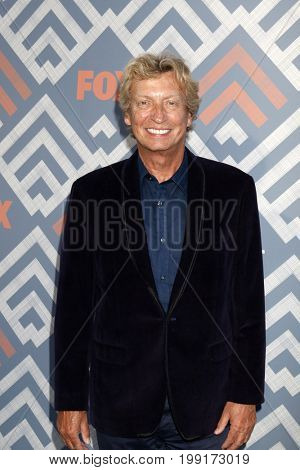 LOS ANGELES - AUG 8:  Nigel Lythgoe at the FOX TCA Summer 2017 Party at the Soho House on August 8, 2017 in West Hollywood, CA