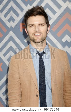 LOS ANGELES - AUG 8:  Adam Scott at the FOX TCA Summer 2017 Party at the Soho House on August 8, 2017 in West Hollywood, CA