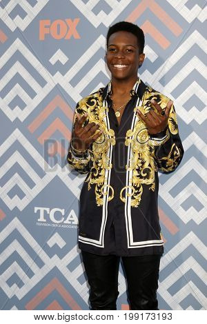 LOS ANGELES - AUG 8:  Dante Brown at the FOX TCA Summer 2017 Party at the Soho House on August 8, 2017 in West Hollywood, CA