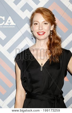 LOS ANGELES - AUG 8:  Alicia Witt at the FOX TCA Summer 2017 Party at the Soho House on August 8, 2017 in West Hollywood, CA