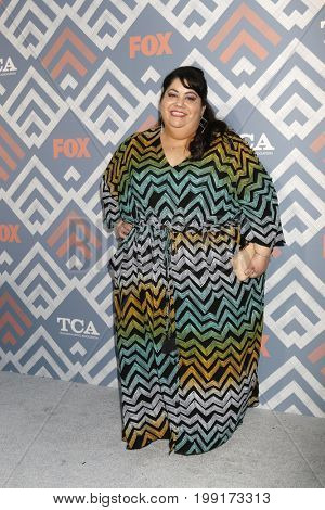 LOS ANGELES - AUG 8:  Carla Jimenez at the FOX TCA Summer 2017 Party at the Soho House on August 8, 2017 in West Hollywood, CA