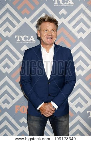 LOS ANGELES - AUG 8:  Gordon Ramsey at the FOX TCA Summer 2017 Party at the Soho House on August 8, 2017 in West Hollywood, CA
