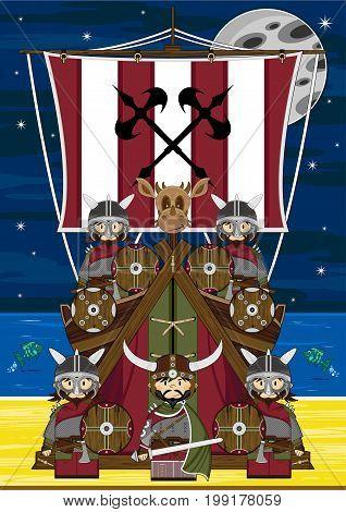 Mini Vikings Scene