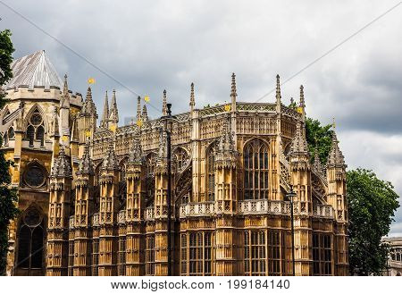 Houses Of Parliament In London (hdr)