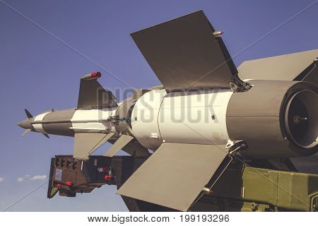 Side View Of The Air Defense Missile System 2