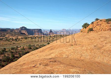 Red Desert Canyonlands National Park Utah USA