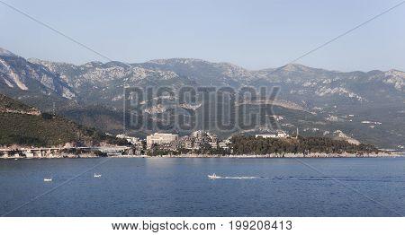 Panoramic View Of The Budva Riviera