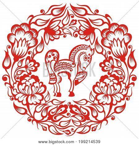 Chinese Zodiac - Horse. Chinese Zodiac symbol