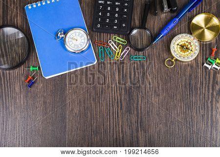 Businessman's Table.