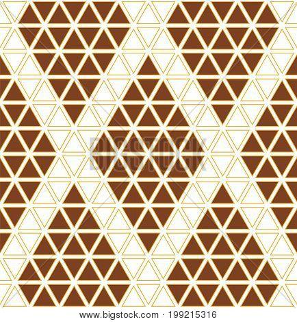 Geometric Pattern Seamless. Hexagon pattern. Hexagon seamless pattern. All in a single layer. Vector illustration.