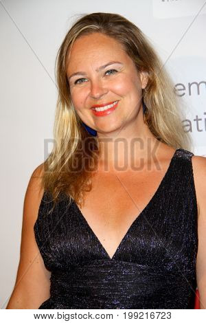 Cecile Locicero attends the