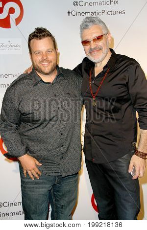 Adam Bartley with Dennis Ilic at the