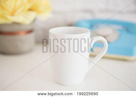 Mug Mockup. Coffee Cup Template. Coffee Mug Printing Design Template. White Mug Mockup. Blank Mug. S