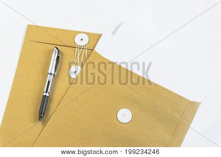Office desks with office equipment and documents you use with your products.