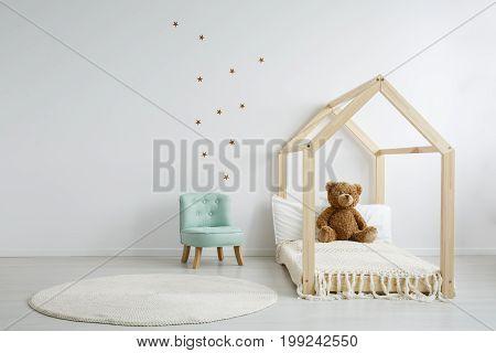 Elegant Chic Chair In Bedroom