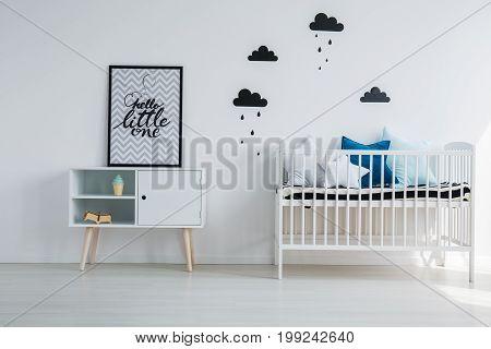Child's Bedroom With Minimalist Design