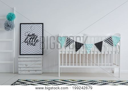 Modern, Stylish Child's Bedroom Interior