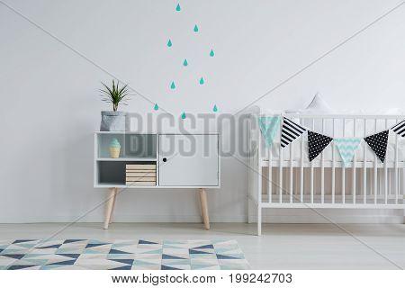 Cozy Interior Of Kid's Bedroom