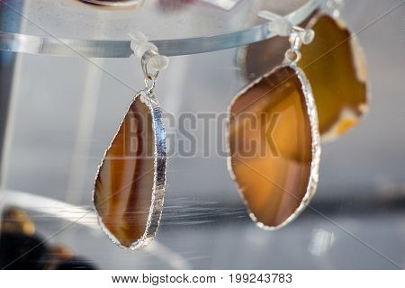 Set Of Natural Mineral Gemstones